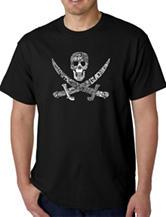 Los Angeles Pop Art Pirate T-Shirt