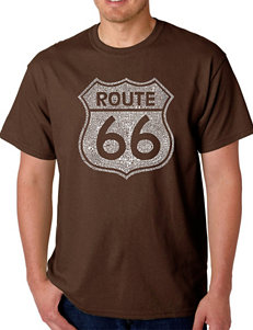 Los Angeles Pop Art Route 66  T-Shirt