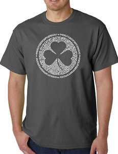 Los Angeles Pop Art Shamrock T-Shirt