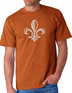 Los Angeles Pop Art Texas Orange Tees & Tanks