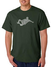 Los Angeles Pop Art Skateboard T-Shirt