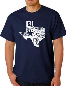 Los Angeles Pop Art Texas T-Shirt
