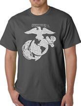 Los Angeles Pop Art Marine T-Shirt