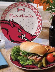 Gameday Ceramic Plate – University of Arkansas