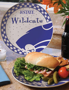 Gameday Ceramic Plate – Kansas State University