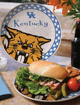 Gameday Ceramic Plate – University of Kentucky