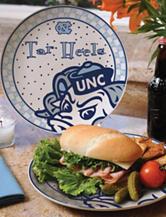 Gameday Ceramic Plate – University of North Carolina