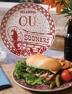 Gameday Ceramic Plate – University of Oklahoma