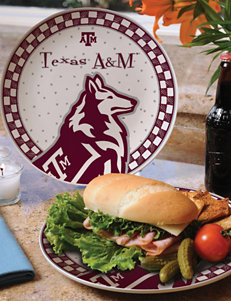 Gameday Ceramic Plate – Texas A&M University