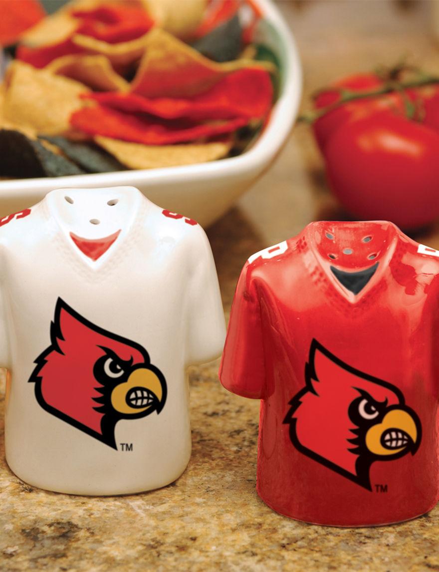 NCAA Red Salt & Pepper Shakers