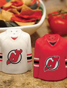 NHL Red Salt & Pepper Shakers Serveware