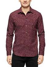 Calvin Klein Floral Print Woven Shirt