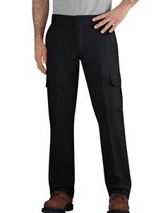 Dickies Black Slim Straight Cargo Work Pants