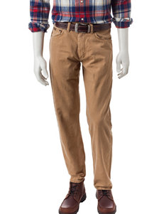 Wrangler Tan Regular Straight