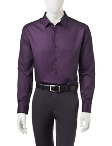 Axist Plum Perfection Casual Button Down Shirts