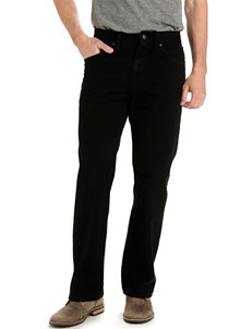 Lee® Double Black Regular Fit Straight Leg Jeans