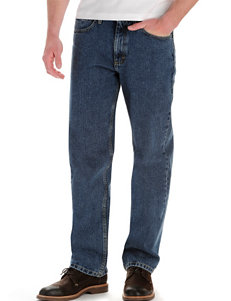 Lee® Medium Stone Relaxed Fit Straight Leg Jeans