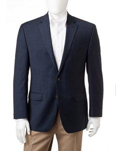 Chaps Navy Performance Suit Coat