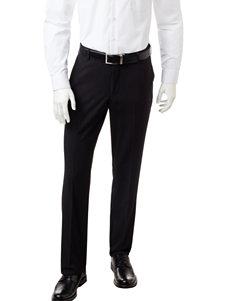 Arrow Black Micro-Striped Dress Pants
