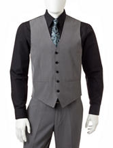 Arrow Grey Micro-Textured Suit Vest