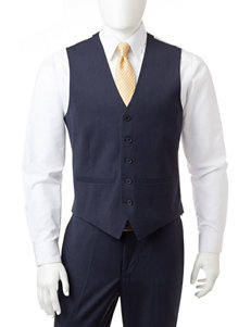 Arrow Solid Color Crosshatch Dress Vest