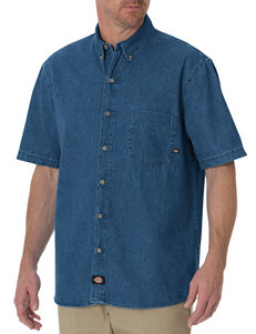 Dickies Stone Washed Denim Work Shirt