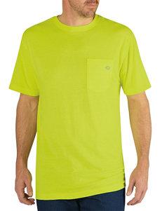 Dickies Neon Yellow Dri-Release Performance T-shirt