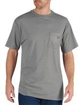 Dickies Medium Heather Gray Dri-Release Performance T-shirt