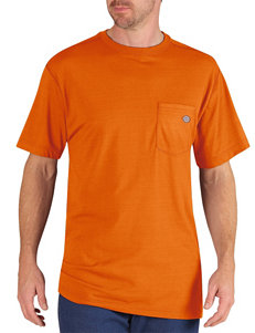 Dickies Neon Orange Dri-Release Performance T-shirt