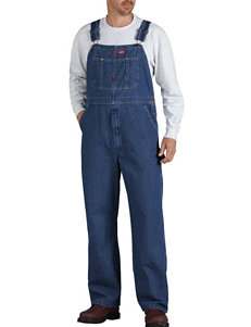 Dickies Stone Washed Denim Bib Overalls