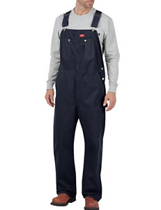 Dickies Indigo Rigid Duck & Denim Bib Overalls