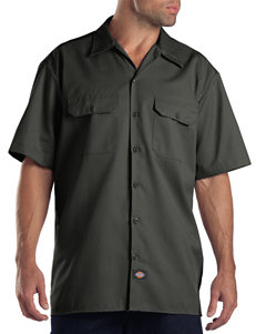 Dickies Dark Green Tees & Tanks