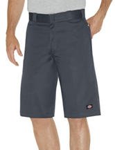 Dickies Charcoal Relaxed Fit Multi-Pocket Work Shorts