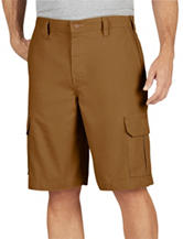 Dickies Brown Relaxed Fit Lightweight Duck Cargo Shorts