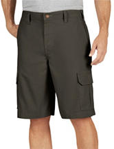 Dickies Moss Relaxed Fit Lightweight Duck Cargo Shorts