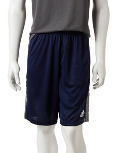 adidas® Navy & Gray Camo Essential Shorts