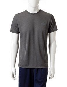 adidas® Dark Gray Essential Tech Shirt