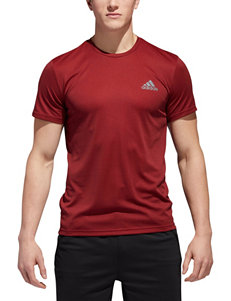 adidas® Red Essential Tech T-shirt
