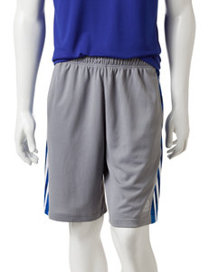 adidas® Gray & Blue Camo Essential Shorts