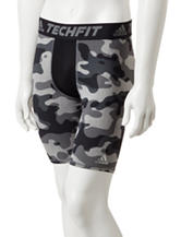 adidas® Black Camo Tech Base Shorts