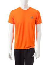 adidas® Orange Essential Tech T-shirt