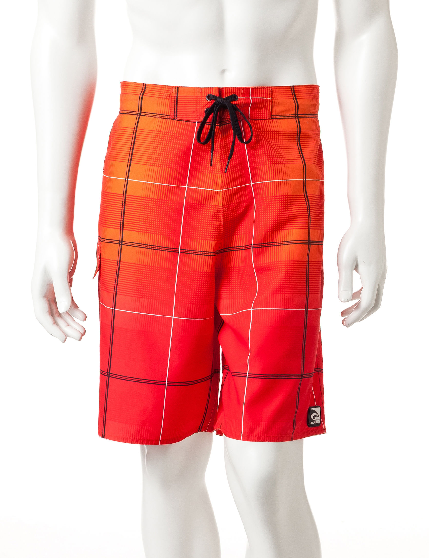 Laguna Red Swimsuit Bottoms