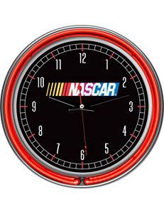 Nascar Black Wall Clocks