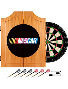 Nascar White Game Room