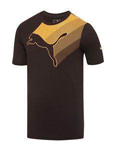 Puma Black Lateral Cat T-Shirt