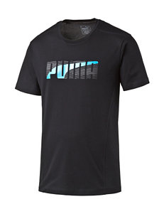 Puma® Form Striped Logo T-Shirt