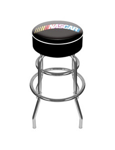 Nascar Black Bar & Kitchen Stools Game Room