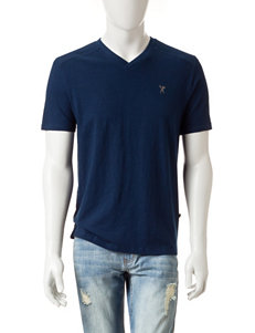 Marc Ecko Solid Color Shears V-Neck Shirt