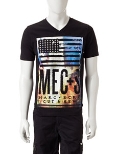 Marc Ecko Black Tees & Tanks