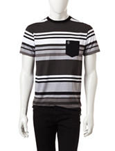 Southpole Large Tonal Engineer Striped Shirt
